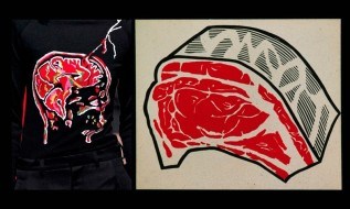 Roy Lichtenstein, Meat, 1962 Christopher Kane