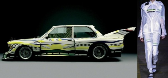 Roy Lichtenstein, BMW 320i Group 5 Race Version Art Car, 1977 Thomas Tait